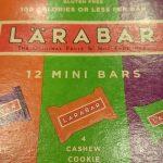 ソイジョイより美味しい!LARABAR(ララバー)