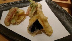 初代の野菜天ぷら