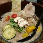 ソラノイロ トンコツ&キノコのスープは全部飲める!